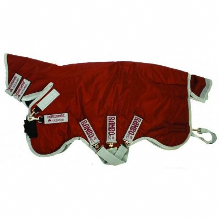 Rambo® Plus Heavy Turnout 400g Combo Red & Silver